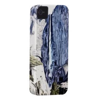Pintura de la cascada del valle iPhone 4 fundas