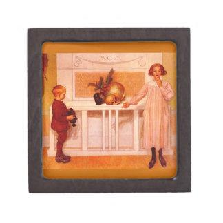 """Pintura de la ciencia de """"Enigma de la vida """" Caja De Recuerdo De Calidad"""