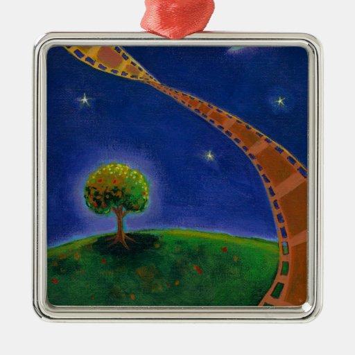 Pintura de la diversión del arte de la película de ornamento para arbol de navidad