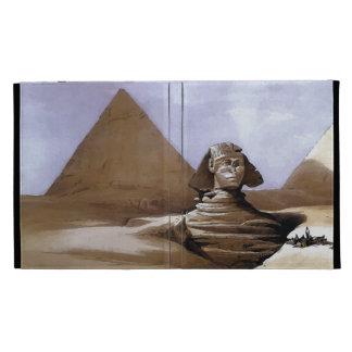 Pintura de la gran esfinge, pirámides de Giza