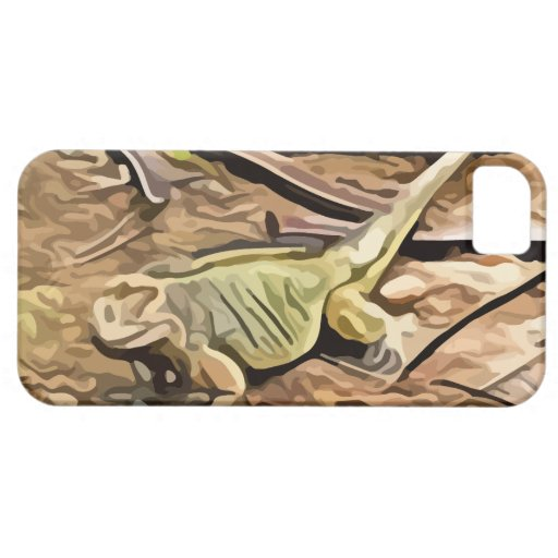 pintura de la iguana iPhone 5 Case-Mate carcasas