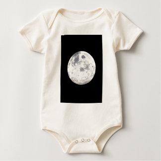Pintura de la Luna Llena para el bebé Mamelucos