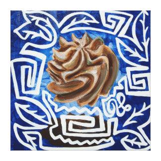 Pintura de la magdalena del cacao impresiones en lona