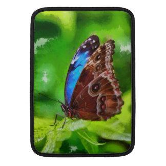 Pintura de la mariposa fundas macbook air