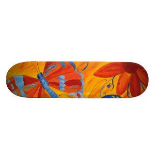 Pintura de la mariposa tablas de skate