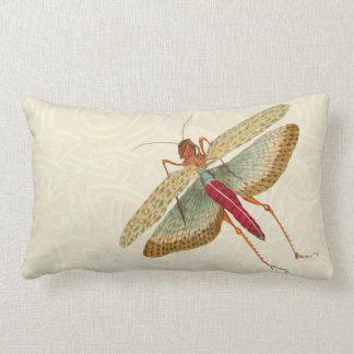 Pintura de la mosca del dragón - almohada lumbar 2
