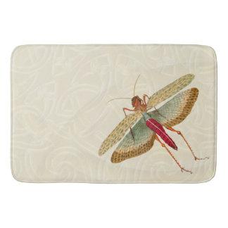 Pintura de la mosca del dragón - estera de baño 1