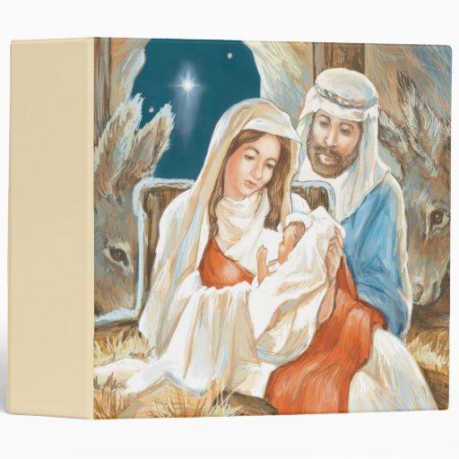 "Pintura de la natividad de la estrella del navidad carpeta 2"""