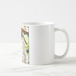 Pintura de la pereza taza