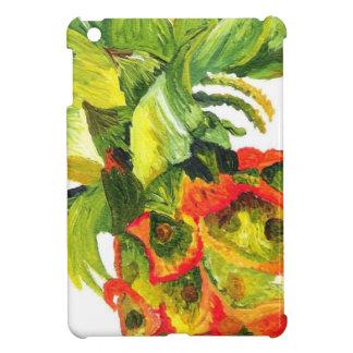 Pintura de la piña (arte de K.Turnbull) iPad Mini Cobertura