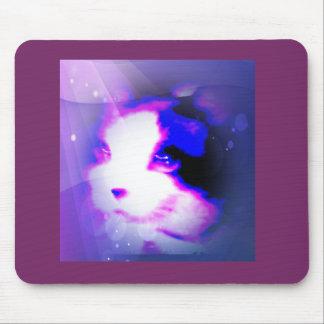 pintura de la raqueta por el gatito de los números tapete de raton