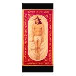 Pintura de la tarjeta del estante de Cristo Lonas Publicitarias