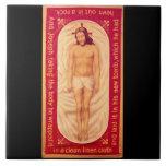 Pintura de la teja de la bella arte de Cristo