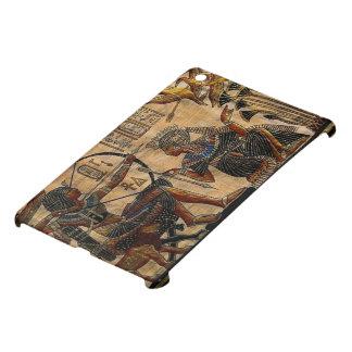 Pintura de la tumba en el papiro iPad mini funda