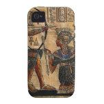 Pintura de la tumba en el papiro iPhone 4/4S funda