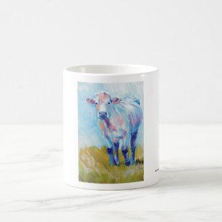 Pintura de la vaca taza de café