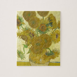 Pintura de las flores de los girasoles 1888 de Vin Rompecabezas