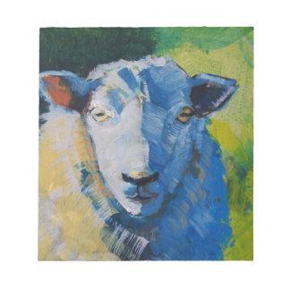 Pintura de las ovejas bloc