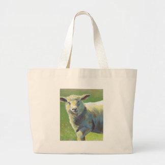Pintura de las ovejas bolsas