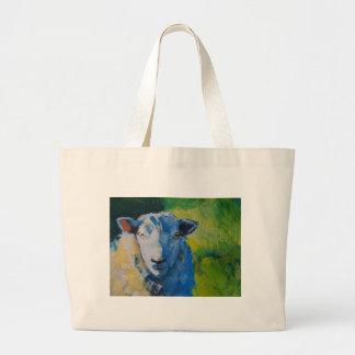Pintura de las ovejas bolsas de mano