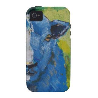 Pintura de las ovejas iPhone 4/4S carcasas