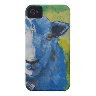 Pintura de las ovejas iPhone 4 Case-Mate carcasas