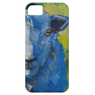 Pintura de las ovejas iPhone 5 carcasa