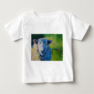 Pintura de las ovejas playera
