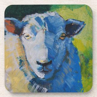 Pintura de las ovejas posavaso
