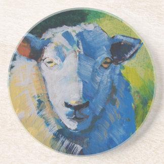 Pintura de las ovejas posavasos diseño