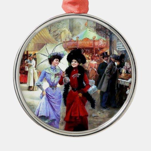 Pintura de las señoras de París dos Ornatos