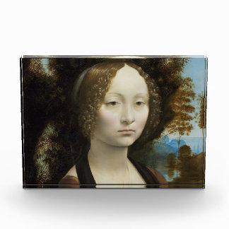 Pintura de Leonardo da Vinci Ginevra de' Benci