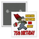 Pintura de los 75.os regalos de cumpleaños de la c