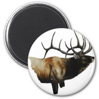 Pintura de los alces de Bull en productos adaptabl Iman