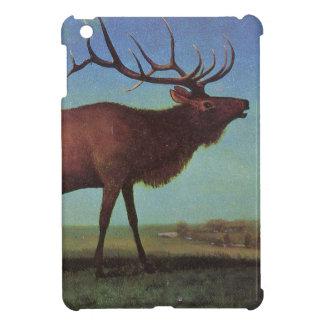 Pintura de los alces iPad mini protectores