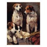 Pintura de los animales de los perros caseros de T