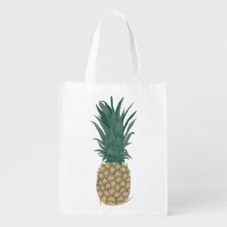 Pintura de los bolsos de un ultramarinos enteros bolsas de la compra
