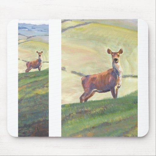 Pintura de los ciervos tapetes de ratones
