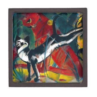 pintura de los gatos cajas de joyas de calidad
