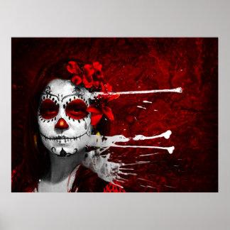 Pintura de los Muertos Poster