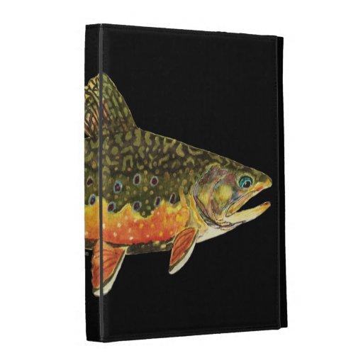 Pintura de los pescados de la trucha de arroyo