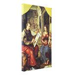 Pintura de Maarten van Heemskerck - de StLuke Impresiones En Lona