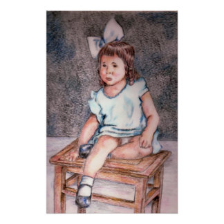 Pintura de Marjorie Poster
