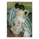 Pintura de Mary Cassatt Felicitacion