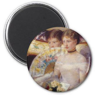 Pintura de Mary Cassatt Imán Redondo 5 Cm