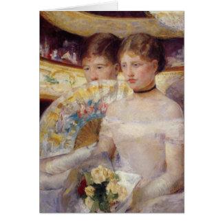 Pintura de Mary Cassatt Tarjeta