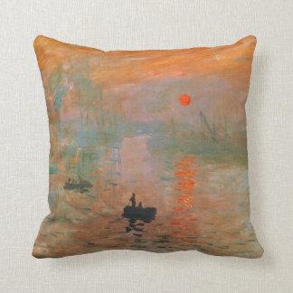 Pintura de Monet Cojín