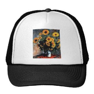 Pintura de Monet de los girasoles