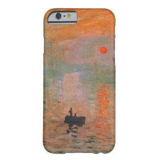 Pintura de Monet Funda De iPhone 6 Slim