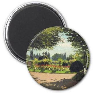 Pintura de Monet Imán Redondo 5 Cm